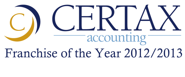 Certax Accounting Franchise of the Year 2012/2013
